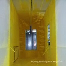 Color Change Powder Coating Spraying Booth