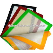 Best Selling Non-Stick Resistente ao Calor Silicone Fibra de Vidro Mat