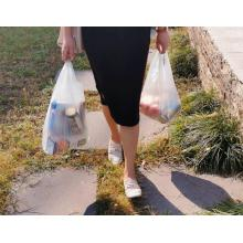 PLA Corn Starch Vegetable Fruit Waterproof Shopping Bags