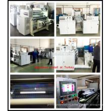 Machine à gaufrage transparente (holographique)