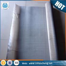 Fabricación de pulpa y papel de seda especial hastelloy pantalla de malla de alambre de aleación / malla de alambre / tela de malla de alambre