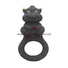 Brinquedos dentição em forma de vaca para o bebê