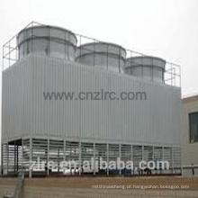 Torre refrigerando retangular da água do fluxo transversal do tipo do enchimento do PVC