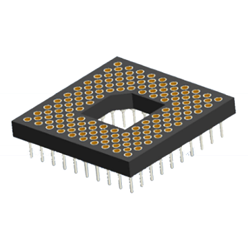 Zoccoli per array di pin PGA lavorati 2,54x1,27 mm
