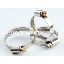 Abrazadera de manguera de engranaje, Abrazadera de manguera de engranaje de turbina, Abrazadera de anillo, Al-756/758