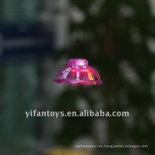 2CH mini ufo infrarrojo con luz, ufo infrarrojo, ufo de vuelo led
