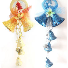 OEM Colorful Christmas Jingle Bell Wind Chime for Hang Decoration