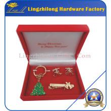 Christmas Holiday Decoration Metal Gifts Set