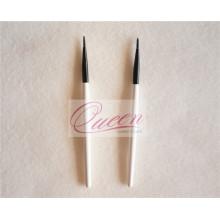 Handle Lipgloss aplicador de madeira Private Label escova Liner Liner