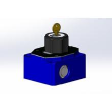 Válvula pneumática de controle de fluxo pequeno