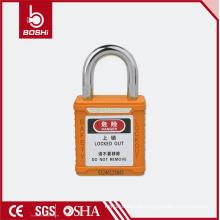 Cadeado de segurança Cadeados curtos BD-G57 com chaveada, cadeado de cores para rotulação de bloqueio