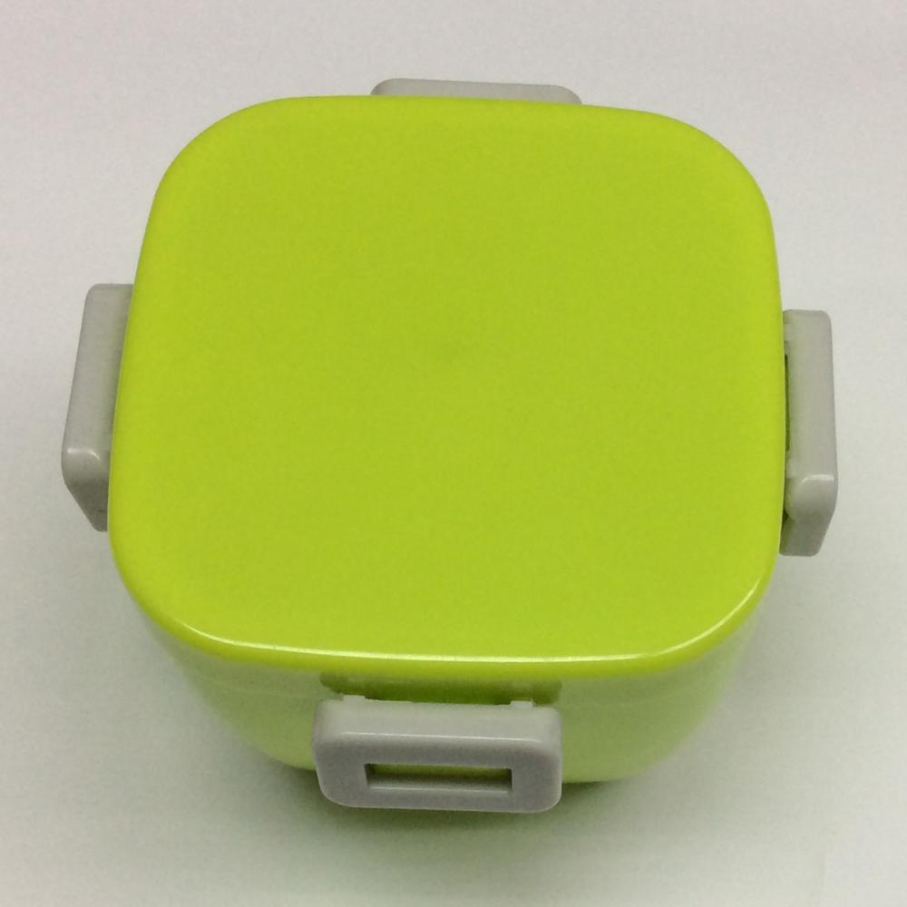 Plastic Square Double Layer Lunch Box