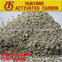 Meios de filtro de pedra Maifan de 2-4 mm para tratamento de esgoto