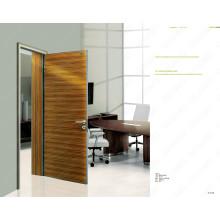 Modelos profissionais da porta de madeira do projeto, porta roxa da cor, portas feitas prontas