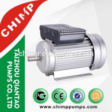 Motor eléctrico de la carcasa de aluminio del arrancador del condensador de la serie de CHIMP YL para la bomba de agua