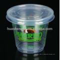 Пластиковая одноразовая чашка мороженного на 6 унций, одноразовая желейная чашка с крышкой