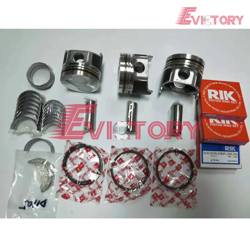 D1105 piston+ring bearing
