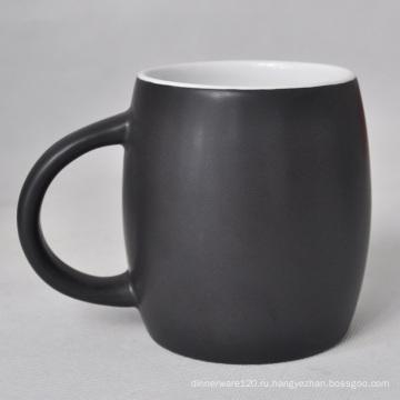 Керамический Матовый Черный Кружка