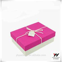 2018 neue Design benutzerdefinierte Papier Designer Geschenkbox