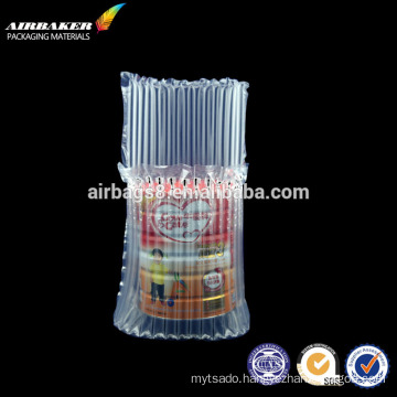 Wholesale shockproof inflatable plastic bubble air bag for wine milk powder electronic product