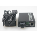 Mode Tunggal SFP POE Fiber Media Converter
