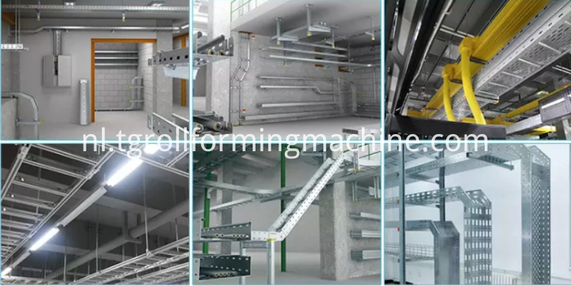 Cable Ladder Roll Forming Machine