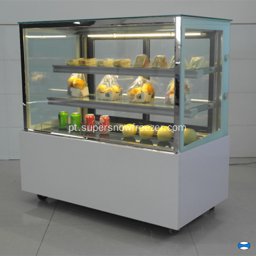 Padaria Serve Over Counter Chiller para Bolos