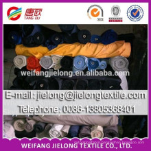 100% cotton plain dyed twill stock fabric for worwear