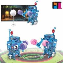 Robot de Batalla de Boxeo DIY Juguetes Operado con Batería Robot Kit (10275276)