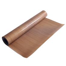 Non adhesive brown color PTFE coated fiberglass fabrics
