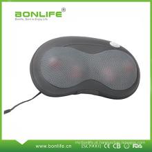 Almofada de Massagem Portátil para Casa e Carro com Função de Aquecimento