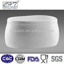 Good quality bone china porcelain sugar pot