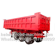 3 Axles Rear Dumper Semi Trailer