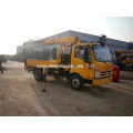 T-KNG 6 ton truck mounted crane with outrigger