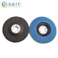 SATC-- Disco de aleta de aluminio y circonio para inox
