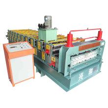 Doppelschicht-Dach- und Wandprofil-Rollformmaschine