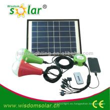led solar luz casera, sistema de iluminación casero solar, kit solar iluminación casera