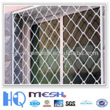 beautiful grid wire mesh fence