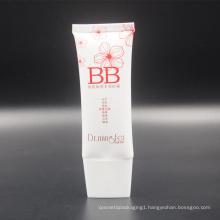 super oval cc cream pe makeup packaging tube
