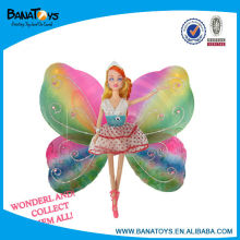 Beautiful butterfly silicone baby doll
