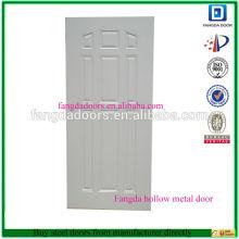 Fangda porte en acier utilisé des portes en acier à vendre