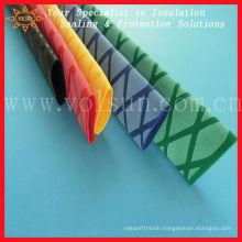 Non-skid polyolefin heat shrink tubing
