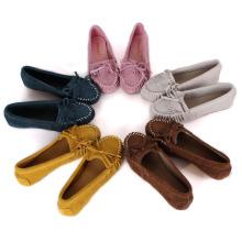 Повседневная кожа Дуг обувь для беременных популярные мелкой