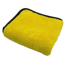 Edge Binding Microfiber Car Cleaning Towel