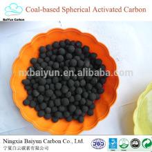 precio competitivo de carbón activado Eliminación de azufre para compradores de carbono activado a granel esférico a base de carbón