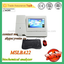 MSLBA22M 2016 Nouvel analyseur de biochimie semi-automatique analyseur de chimie semi-automatique pas cher