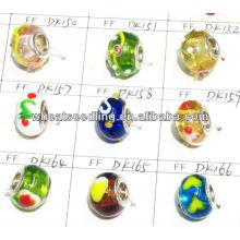 Mode européen en argent sterling en cristal de perles de cristal de cristal en gros LS-141