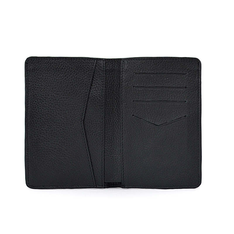 For Leather Travel Passport Holder Cards Wallet Cover