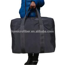 Extra grande logotipo personalizado saco de bagagem de pano oxford mais grosso