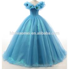 La gran falda de lujo Cinderella love butterfly series era delgada Qi para cumplir con el mercado al por mayor de la boda del príncipe